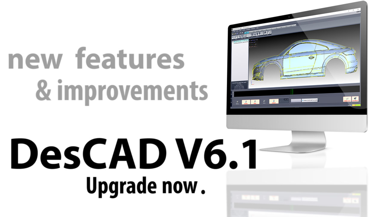 DesCAD V6.1 released